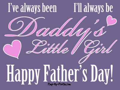 Are You A Daddy's Girl?
