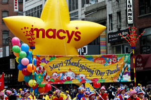 NYC Holiday Events: Macys Thanksgiving Day Parade